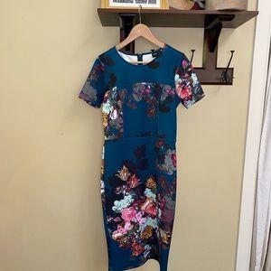 Stunning body fit stretch dress